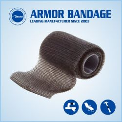 5cm 130cm Black Leak Sealing Bandage Fiber Fix Wrap Tape for Pipes