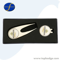 bfc1f01f3da Custom Logo Metal Golf Ball Marker Blank Magnet Metal Golf Hat Clip Divot  Tool