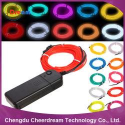 1.4mm ~ 5.0mm EL Wire Neon Rope Light