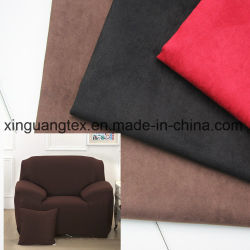 Polyester Five Weft Suede Fabric for Garment/Shoes/Sofa/Pillow/Home Textiles/Bags
