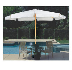 Wooden Umbrella, Sun, Garden, Promotional, Commercial, Market Parasol,  Outdoor Umbrella