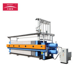 Program Controlled Auto 1600 Chamber Filter Press for Food Stuff