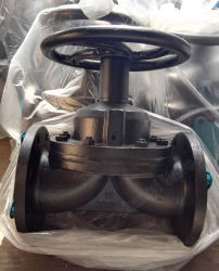 Saunders Cast Iron Manual Flanged Ends Weir Diaphragm Valve