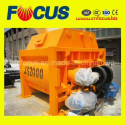 Js2000 Double Axles Concrete Mixer for Hzs120 Concrete Mixing Plant