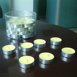 China Manufacturer White Decorative Candle Tealight