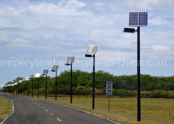 High Lux New Energy Solar Street Lighting with Ce&RoHS&FCC