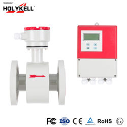 High Precise Feed Water Fine Quality Slurry Type Flow Meter Electromagnetic