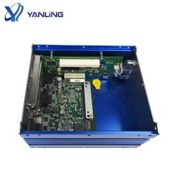 Aluminum Fanless Computer Intel Core I5 I7processor RAM DDR4 Industrial PC Support 2*PCI Slot or 1*Pcie, 1*PCI Slot