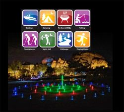 Small MOQ 12-Pk Multi-Color LED Light-up Markers Golf Night Sport Lightzones LED Marks Light up Golf Items for Golf Course