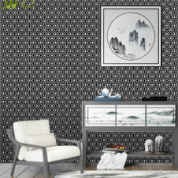 Wall Paper 3D PVC Waterproof Vinyl Wallcovering Home Decoration Wallpaper