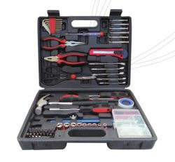 160 PCS Hangzhou Factory Hardware Tools Kit in Blow Case