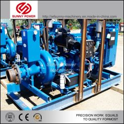 Tunnel High Pressure Water Pump Dirty Sewage Water High Head Slurry Pump