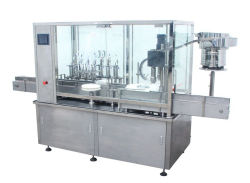 High Speed Tracking Type Filling and Capping Machine