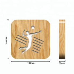 Volleyball Sport Wooden Business Gifts Set