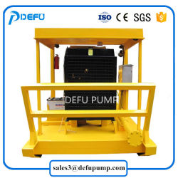 High Pressure Horizontal Mining Slurry Ash Centrifugal Pump with Diesel Engine