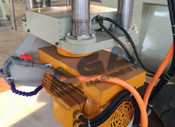 Granite&Marble Bridge Sawing Machine with Head Rotated 90 Degree (HQ600D)