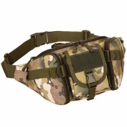 Men Waterproof 1000d Nylon Waist Fanny Pack Tactical Military Sport Army Bag Hiking Fishing Bags