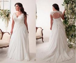 China plus size wedding dresses plus size wedding dresses wholesale price lace straps chiffon sleeveless plus size wedding dress junglespirit Image collections