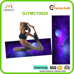 Safe and Non Toxic Starry Sky Printed Durable Yoga Mats