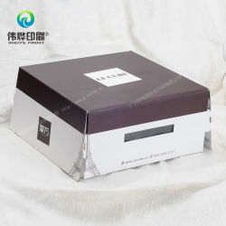 Customized Paper Gift Packaging Cake Box Printing