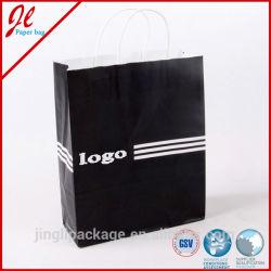 Factory Direct Shopping Bags Brown Kraft Paper Bags Shopping Paper Bags Twisted