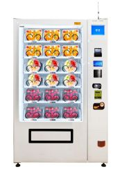 Vegetable and Fruit Vending Machine with Bill Acceptor