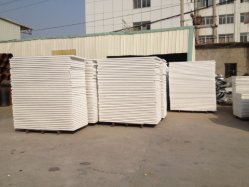 EPS Sandwich Panel with White Color Painted Aluminum Metal Sheet