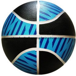 Two Color Training Rubber Basketball Sport Goods