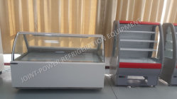 2m New Style Supermarket Used Commercial Display Meat Freezer