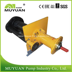 Single Stage Mineral Processing Vertical Slurry Pump