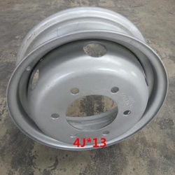 4jx13tractor Steel Wheel Rims Fitted Tyr Etire 5.50-13/5.00-13 /6.00-13