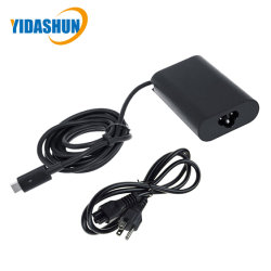 30W USB-C Power Adapter Type-C Pd Laptop Charger Adaptor for DELL