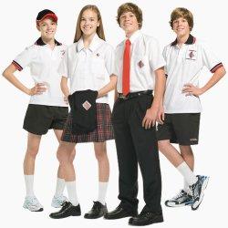 Custom School Logo High School Uniform Design for Boys&Girls