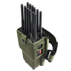 Hotsale 12 Antennas All in One Full Bands Handheld Portable Cell Phone Jammer