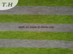 2016 Chenille Strip Jacquard Sofa Fabric by 330GSM
