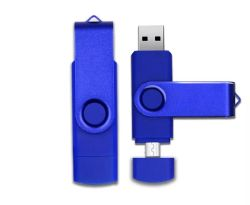 OTG USB Flash Drive USB 2.0 Pen Drive for Android Molbile & USB Computer 8GB 16GB 32GB 64GB 128GB Factory Wholesale Competive Price