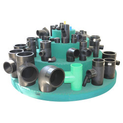 Equal Tee HDPE Pipe Fittings for Water Supply