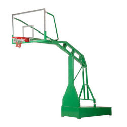 Outdoor Sports Equipment Mobile Basketball Stand in The Playground