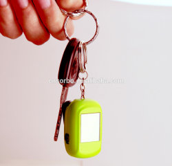 Hot Selling Mini Multi LED Flashlight Torch Solar Keychain Light