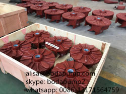 Electric Motor Driven High Head Slurry Pump Spare Parts