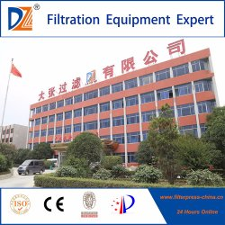 Dz Slurry Membrane Hydraulic Chamber Filter Press Machine