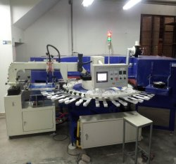 Silicone Gel Screen Printing Machine for Socks