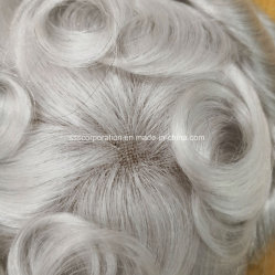 Most Natural Custom Made Best Quality Men's Human Hair Hairpiece