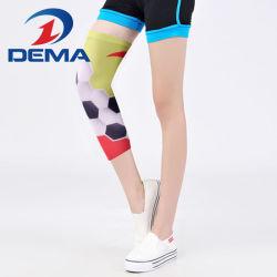Unisex Printed Leg Sleeve Sun Block Cycling Workout Gear