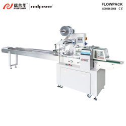 Automatic Layer Cake Packing Machine Horizontal Flow Wrapper Machine