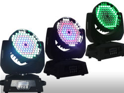 Factory Sale! 108pcsx 3W RGBW LED Moving Head Wash Light / Zoom Stage LED Wash Lighting