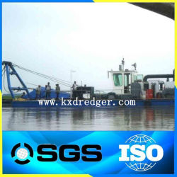 China River Cutter Suction Sand Dredging Machine