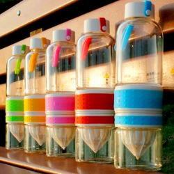 Colorful Glass Juicer Hand Juicer Hand Fruit Juicer Sport Orange Juicer