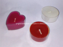 Scented Tealight Candle with Transparent Cup for Home