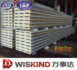 New China Wholesale Steel Structure PU/Polyurethane Sandwich Panel